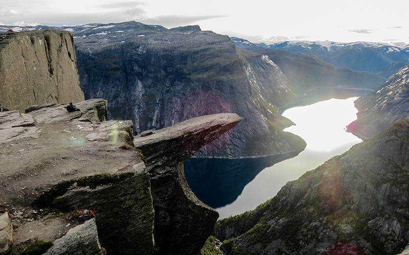 Sunset Trolltunga